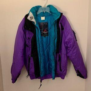 Vintage Mountain Goat Ski Jacket